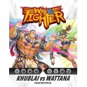 Way of the Fighter: Figther Pack Khublai vs Wattana - expansion juego de cartas