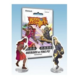 Way of the Fighter: Figther Pack Mbiraru vs Ying Pei - expansion juego de mesa