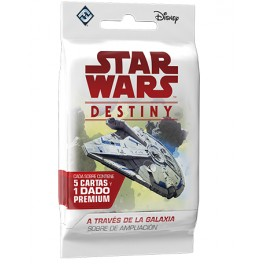 Star Wars Destiny. A Traves de la Galaxia: sobres de ampliacion