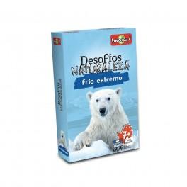 Desafios de la Naturaleza: Frio Extremo - juego de cartas