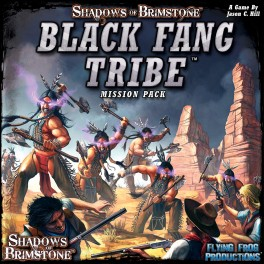 Shadows of Brimstone: Black Fang Tribe Mission Pack - Expansion juego de mesa