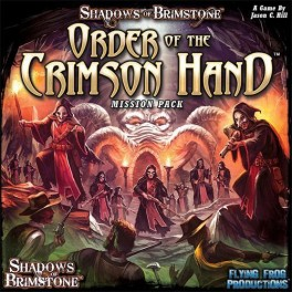 Shadows of Brimstone: Order of the Crimson Hand Mission Pack - Expansion juego de mesa
