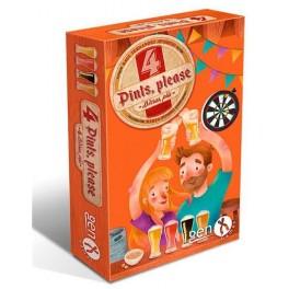4 Birras plis - juego de cartas
