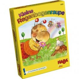 La oruguita arco iris - juego de cartas y dados para niños
