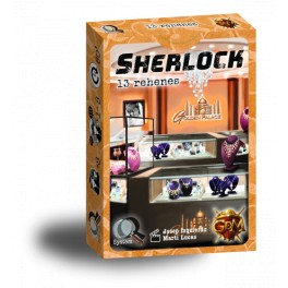 Serie Q Sherlock: 13 Rehenes - juego de cartas
