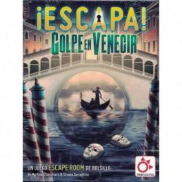 Escapa: Golpe en Venecia - juego de cartas