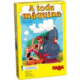 A toda Maquina - juego de mesa para niños