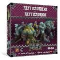 Massive Darkness. Caja de enemigos: Reptisaurios - expansión juego de mesa