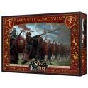 Juego de Tronos: Cancion de hielo y fuego el juego de miniaturas: Guardias Lannister - expansion juego de mesa