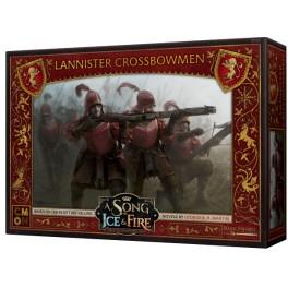 Juego de Tronos: Cancion de hielo y fuego el juego de miniaturas: Ballesteros Lannister - expansion juego de mesa