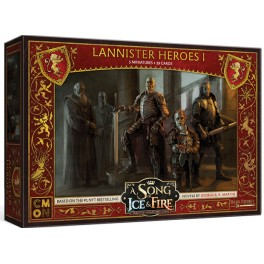 Juego de Tronos: Cancion de hielo y fuego el juego de miniaturas: Heroes Lannister I - expansion juego de mesa