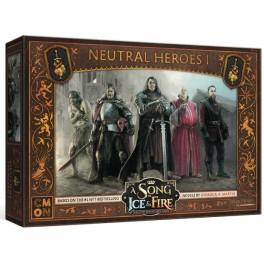 Juego de Tronos: Cancion de hielo y fuego el juego de miniaturas: Heroes neutrales I - expansion juego de mesa