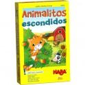 Animalitos Escondidos - juego de mesa para niños