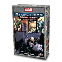 Marvel Strike Teams Strategy Game: Avengers Initiative - expansion juego de mesa