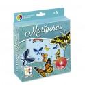 Mariposas juego de mesa para niños