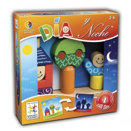 Dia y Noche juego de mesa para niños