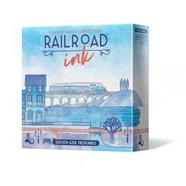 Railroad Ink: Edicion azul profundo - juego de mesa