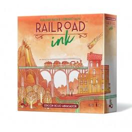 Railroad Ink: Edicion rojo abrasador - juego de mesa