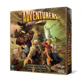 The adventurers: la piramide de Horus juego de mesa