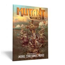 Mutant year zero Manual de Zona 3: Morid, Comecarnes, Morid - suplemento de rol