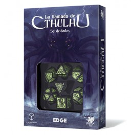 La llamada de Cthulhu: Set de dados - accesorio juegos de rol