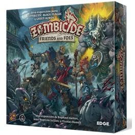 Zombicide Black Plague: Friends and Foes - expansión juego de mesa