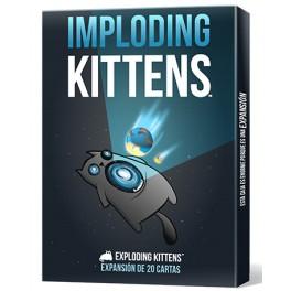 Exploding Kittens: Imploding Kittens - expansión juego de cartas