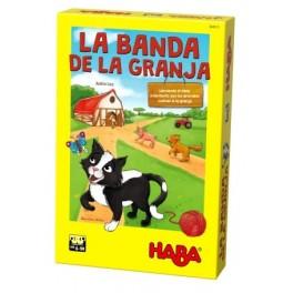La Banda de la Granja - juego de mesa para niños