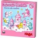 Unicornio Destello: Torre de Nubes - juego de mesa para niños