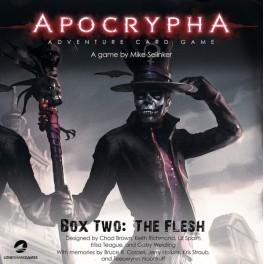 Apocrypha Adventure Card Game: The Flesh Expansion - expansión juego de cartas