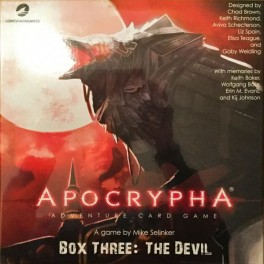 Apocrypha Adventure Card Game: The Devil Expansion - expansión juego de cartas