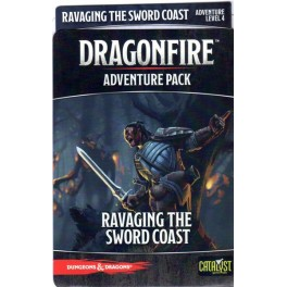 DragonFire Adventures Ravaging Sword - expansión juego de cartas