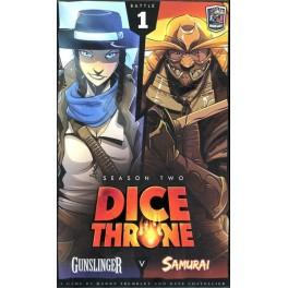 Dice Throne Season Two: Gunslinger v Samurai - expansión juego de mesa