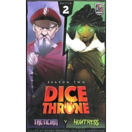 Dice Throne Season Two: Tactician v Huntress - expansión juego de mesa