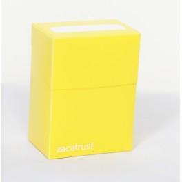 Deck Box Zacatrus Amarillo - accesorio juego de mesa