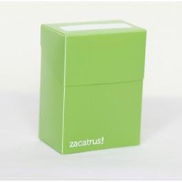Deck Box Zacatrus Verde - accesorio juego de mesa
