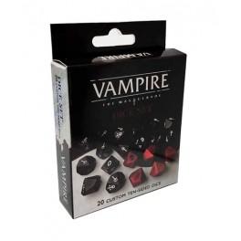 Dados Vampiro 5 edicion - accesorio juego de rol