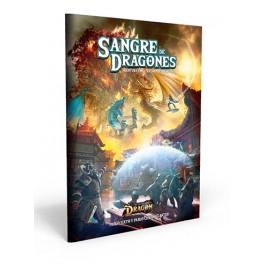 El resurgir del Dragon: Sangre de Dragones - suplemento de rol