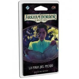 Arkham Horror: La paga del pecado - expansión juego de cartas