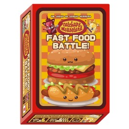 Catchup and Mousetard: Fast Food Battle - juego de cartas