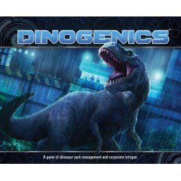 DinoGenics - Edicion Kickstarter - juego de mesa