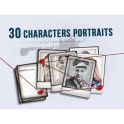 Detective: 30 Character Portraits - Mini Expansion