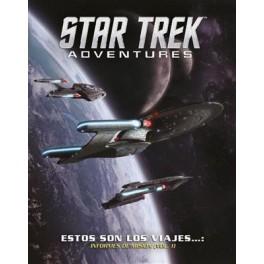Star Trek Adventures: Estos son los viajes... Informe de Mision Volumen 1 - suplemento de rol