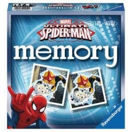 Ultimate Spiderman Memory - juego de mesa para niños