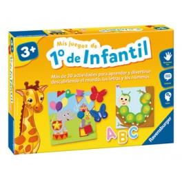 Mis Juegos de Primero de Infantil - Juego de mesa para niños
