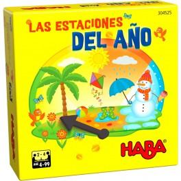 Las Estaciones del Año - juego de mesa para niños