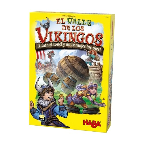 Comprar El Valle De Los Vikingos Juego De Mesa Para Niños