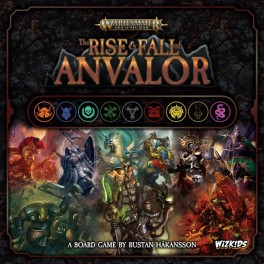 Warhammer: Age of Sigmar – The Rise and Fall of Anvalor - juego de mesa