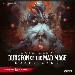 Dungeons and Dragons: Waterdeep – Dungeon of the Mad Mage Adventure System Board Game - Premium Edition - juego de mesa