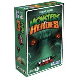 Monsters vs heroes: legends of Cthulhu (edicion en castellano) - juego de cartas